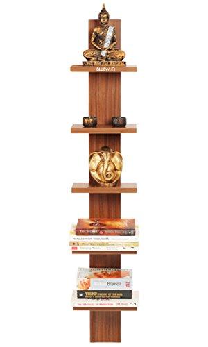 BLUEWUD Louis Engineered Wood Wall Decor Shelf/Display Rack