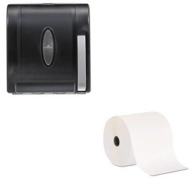 KITGEP26601GEP54338 - Juego de toallas de papel no perforadas Georgia Pacific (GEP26601) y Georgia