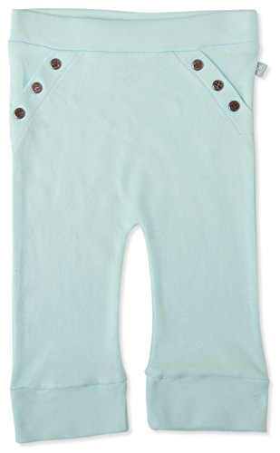 Finn + Emma Organic Cotton Pants for Baby Boy or Girl – Clearwater, 9-12 Months by Finn + Emma