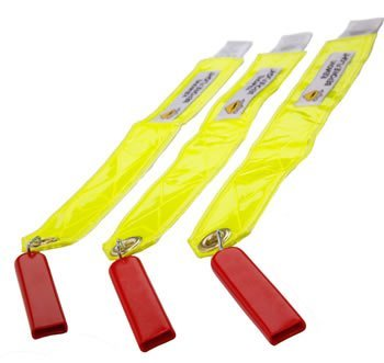 Static Wick Safety Covers/X3/Square Style/Fits Falcons/Hawkers & Beechjets