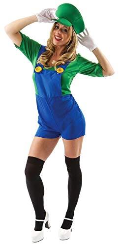 Female Super Plumber's Mate Costume -