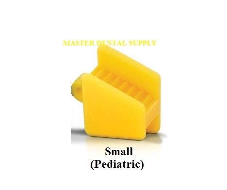 Pediatric Silicone (Dental Silicone Mouth Prop Bite Block 2 Pcs SMALL Color Coded Autoclavable LATEX FREE)