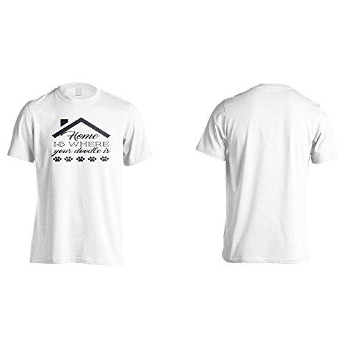Zuhause Ist, Wo Dein Gekritzel Ist Herren T-Shirt k604m