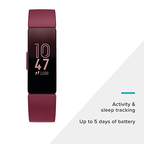 Fitbit Inspire Fitness Tracker, One Size (S & L bands included) by Fitbit (Image #3)