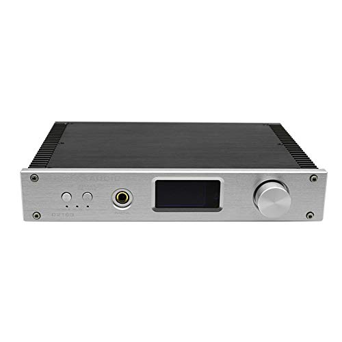 LitterPrince FX-Audio D2160 HiFi Bluetooth 150WX2 Power Headphone Amplifier (Silver - 150 Digital Watt Amplifier