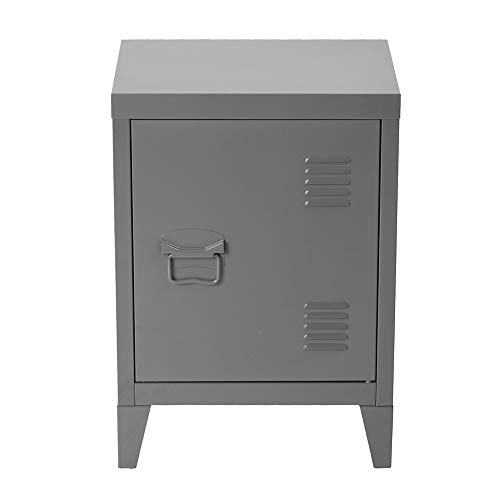 HouseinBox Kids Metal Lockers Gym Room Keeper School Living Room Office Organizer,Grey,15.9'' x 12'' x 22.6''