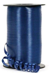 Loftus International Navy Blue 3/16 Inch Curling Ribbon 500YD Spool, Navy Blue