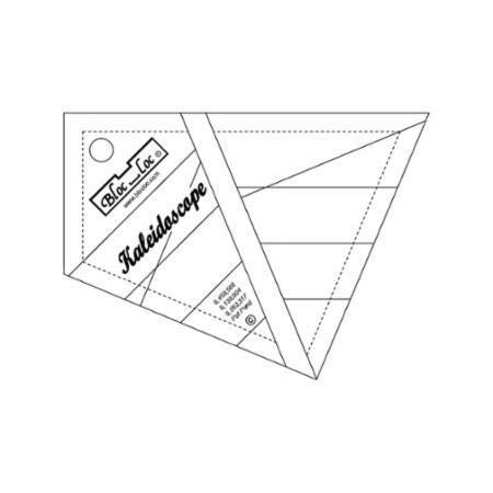 Bloc Loc~ Kaleidoscope 4'' Acrylic Ruler by Bloc Loc