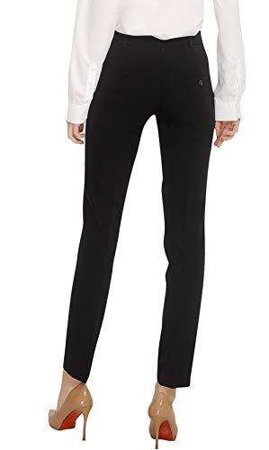 12b3528398 Marycrafts Women's Work Dress Pants Straight Leg Bootcut Trousers