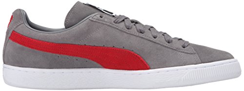 Sneakers Men Noir Adulte Suede Mixte Basses Steel For Classic Puma Cherry Gray barbados EwxTqBC8n
