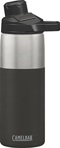 CamelBak Chute Mag Stainless Water Bottle, 20oz, Jet (Camelbak Insulated Bottle)