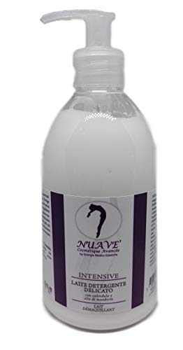 Leche limpiadora con la maravilla de manzanilla y aceite de almendras dulces cantidad profesional de 500