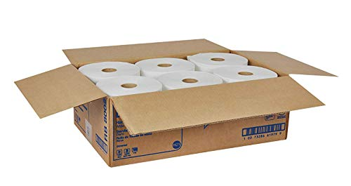 Tork Universal RB8002 Hardwound Paper Roll Towel, 1-Ply, 7.87'' Width x 800' Length, White (Case of 6 Rolls, 800 per Roll, 4,800 Feet) (Тwo Рack) by Tork (Image #7)