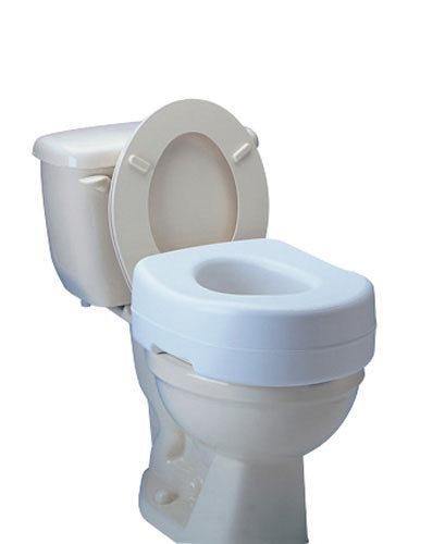 "`Raised Toilet Seat 5 1/2"" High Carex"