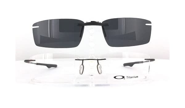 ed323854fe7 Amazon.com  OAKLEY KEEL-OX3122-55X18 POLARIZED CLIP-ON SUNGLASSES (Frame  NOT Included)  Health   Personal Care