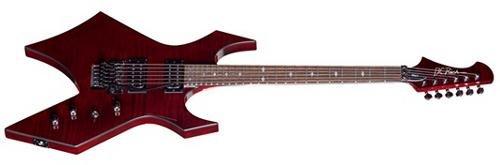 Warlock Electric Guitar, Trans Cobalt Blue (Bc Rich Warlock Electric Guitar)