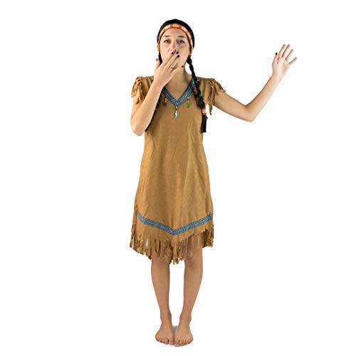 Bodysocks Female Indian Princess Fancy Dress Costume -