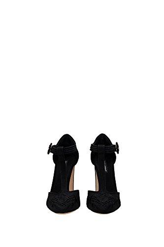 CD0440AD14880999 Dolce&Gabbana Pumps Damen Stoff Schwarz Schwarz