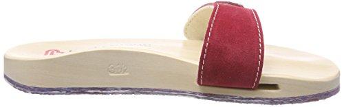 Berkemann Unisex Volwassen Originele Sandaal Mules Rood (red)