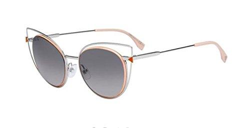 Fendi FF 0176/S 010/EU Palladium/ Gray Gradient Sunglasses