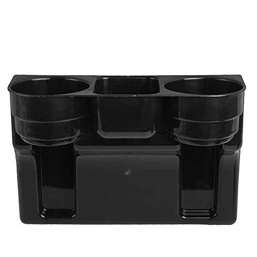 Clearance Sale!UMFunBlack 2 Cup Holder Drink Beverage Seat wedge Car Auto Truck Universal Mount]()