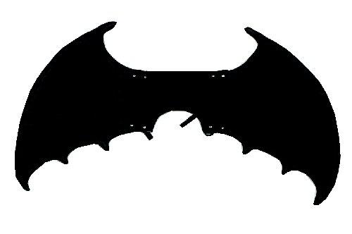 Jacobson Hat Company Eva Foam Black Bat Wings, 32
