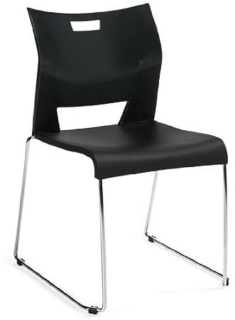 Global Duet 6621 Polypropylene Plastic Stacking Chair