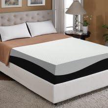 Amazon Com Dream Sleep 10 Inch Memory Foam With Cool Gel Mattress