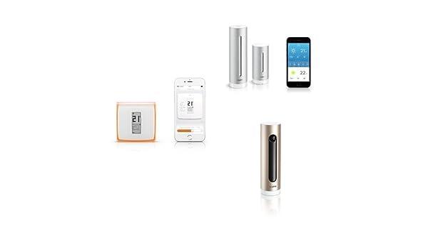 Kit Netatmo - Termostato + Cámara Wi-Fi con reconocimiento facial ...