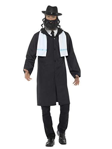 Smiffys Men's Rabbi Costume, Black, Large]()