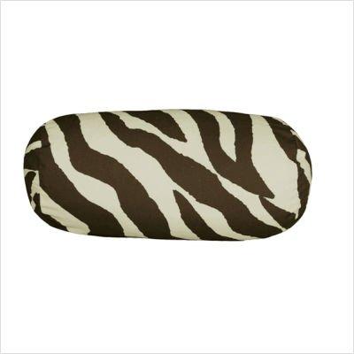 - Karin Maki 07152200038KM Brown Zebra Neckroll Pillow