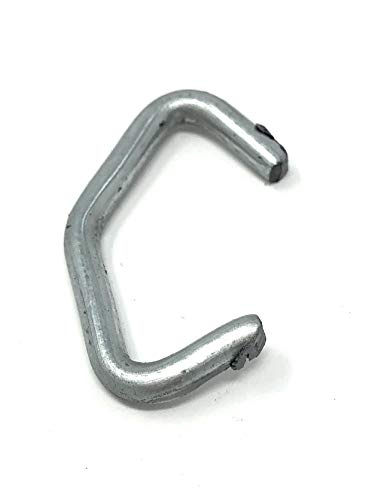 (25 LB) 9Ga Galvanized Steel Chain-Link Fence Hog Rings ()