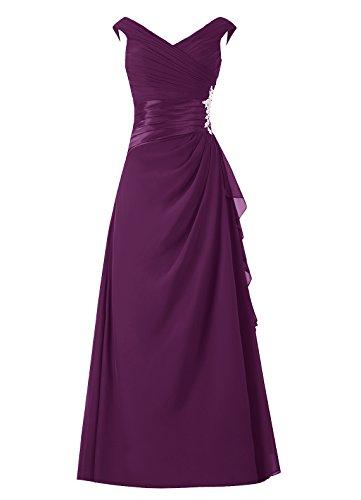 Abendkleider Bodenlang Homecoming Grape Damen Dresstells Promi Kleider Kleider CqEx5ntFw