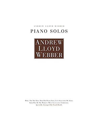 Andrew Lloyd Webber: Piano Solos. Partituras para Piano y Guitarra ...