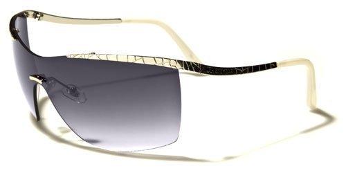 Fashion Eyewear New 2014 Women's Stylish Celebrity Inspired Rimless Sunglasses-DG38167 - Celebrity Sunglasses 2014