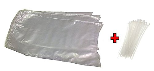 Poultry Shrink Bags- 25 Clear 10