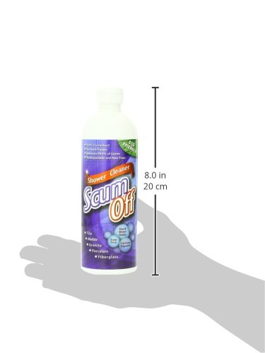 Scum Off Shower Cleaner for Hard Water, 16 fl.oz, Cleans