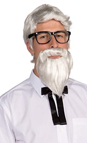White Wig Men (Forum Novelties Southern Colonel Wig & Beard)