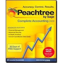 Peachtree By Sage Complete Accounting 2009 Multi User