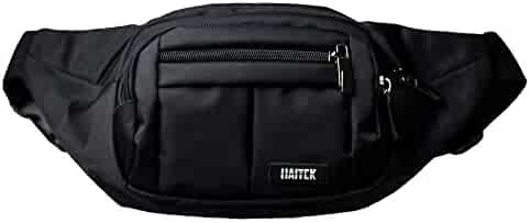 HAITEK Waist Bag for Men and Women–Light, Comfortable and Adjustable Fanny Pack