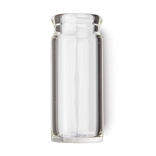 Wall Glass Guitar Slide - Dunlop 275 Blues Bottle Slide, Clear, Heavy Wall Thickness, Medium