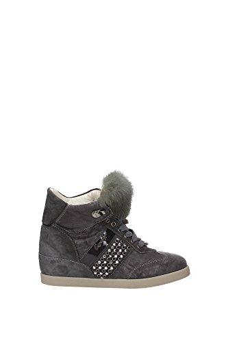 Cesare Gray Women UK Sneakers Paciotti DTW31204GRIGIOFERR xqxOBP