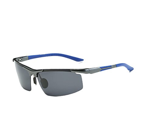 Arctic star Polarized Sunglasses Driving Driving Mirror Coated Mirror Sunglasses Riding Glasses (Blue ()