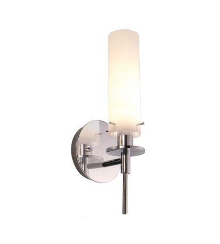 (Sonneman 3031.01, Candle Torchiere Glass Wall Sconce Lighting, 1LT, 20 Watts, Polished Chrome)