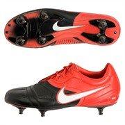 Nike CTR360 Maestri suelo blando Botas de fútbol - negro/blanco/desafío rojo - talla 7 (tamaño 41 Europa)