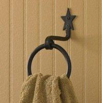 Star Bath Towel Ring Hook