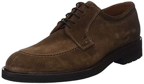Cordones buckster Para Marrón Derby Castor Lottusse L6823 De Hombre Zapatos RqwtgZxO