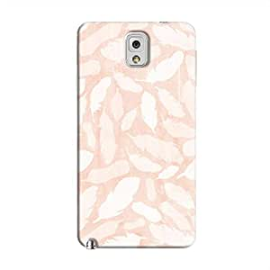 Cover It Up - Feather Pink Print Galaxy Note 3 Hard Case