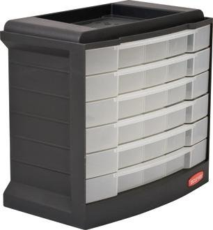 Curver Drawer Storage Box Small Parts Storage Cabinet With 290 X 170  XH270mm Assortment Box For