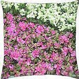 Pink flowers M26 - Throw Pillow Cover Case (18